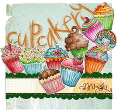 Cupcakery by CD Muckosky