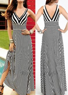 Designer Clothes, Shoes & Bags for Women White Dress With Sleeves, White V Neck Dress, Nice Dresses, Casual Dresses, Casual Cocktail Dress, Skirt Fashion, Fashion Outfits, Best Casual Outfits, Frock Design