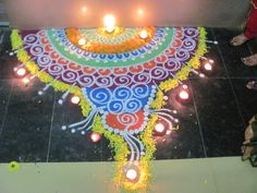 Celebrating Diwali '11