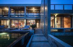 Jun Sekino completes Bauhaus-inspired beachside home in eastern Thailand
