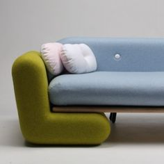 Marvin Reber's Inclusion Couch dismantles  to create an indoor playground