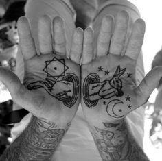 beautiful palm #tattoo