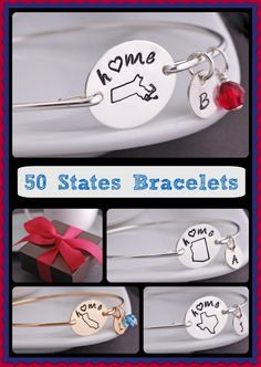 Show your state pride!  All 50 states available in both silver and gold!