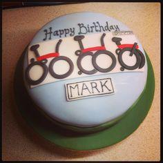 Brompton bike cake