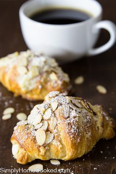 These buttery and flaky almond croissants are made from scratch, including the almond paste inside each pastry. Making croissants is not difficult; you don't need any expensive ingredients or equipment. All you need is time and technique. They do take quite some time and patience, but the end result is so worth it! You just