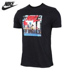 41.48$  Buy now - http://aliip7.shopchina.info/1/go.php?t=32810634249 - Original New Arrival 2017 NIKE AS M NSW TEE AIR HYBRID PHOTO Men's T-shirts short sleeve Sportswear 41.48$ #magazineonlinebeautiful