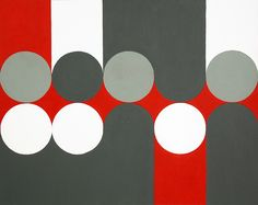 Hard-edged painting / geometric abstraction by British artist Gary Andrew Clarke Hard Edge Painting, New Artists, Repeating Patterns, Geometric Art, Op Art, Geometry, Photo Art, Art Projects, Abstract Art