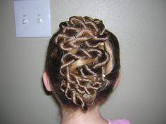 Twisted Updo from Princess Hairstyles