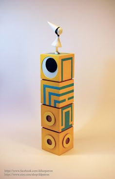 Totem with Ida. Monument Valley Game.