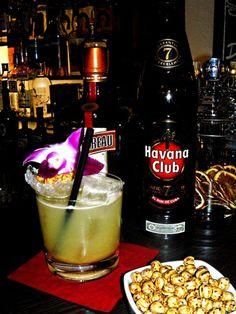 Marrakesch Smash - der orientalische Cocktail mit Kichererbse und Feige