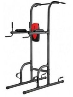 Get a full body Workout at Home with this Power Tower Fitness Station. Get a chiseled chest and triceps, while keeping perfect form at the Push Up Station. Define your back and arms at the multi - grip Pull Up Station. The Dip Station is another place to further tweak out those chest and tricep muscles. The Vertical Knee Raise Station is where you will trim and sculpt your midsection. Many more Exercises can be done on the Power Tower, the only limit is your imagination. Free Shipping!