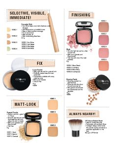 """""""Colours"""" Face:  Concealer Stick (10062)  Loose Powder (10064)  Pressed Powder (10067)  Blush (10063)  Bronzing Pearls (10068)  Oilfree Make-up (10061)  Cream Make-up (10060)  All this you can find www.lrworldshop.com Lr Beauty, Bronzing Pearls, Loose Powder, Concealer, Health And Beauty, Beauty Products, Blush, Eyeshadow, Make Up"""