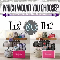Here are our New Kits when you join Thirty One! Both are great. Please feel free to talk to me by messaging me on Facebook or go to www.shopwithmarci.com and join my wonderful team I will be in contact with you and ready to help you be successful! $99.00 was the best investment I ever made in myself! Boy did it change me world!