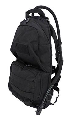 Tactical Scorpion Gear TSGHYDBK Military 2L Hydration Badger MOLLE Backpack  Black * Visit the image link more details.(This is an Amazon affiliate link and I receive a commission for the sales)