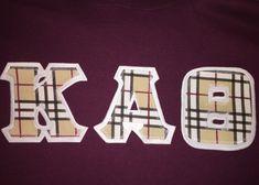 Designer Inspired Greek Lettered Shirt by GreekLetters13 on Etsy