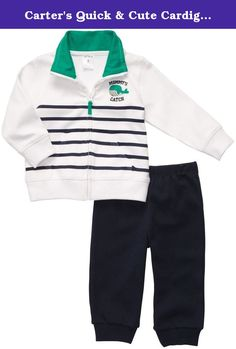 cb27777dd Carters Whale Mommy's Catch Cardigan & Pant Set « Clothing Impulse. Baby  Chat