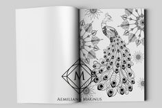New adult coloring book Magical Garden by international artist and designer Aemiliana Magnus takes you on a visual journey into a fantasy garden, filled with the imaginative, intricately detailed surrealistic illustrations of flowers and plants, animals and nature-inspired patterns. Perfect gift idea for the friends and family members, to adults and kids alike. Enter the mysterious gates to the Magical Garden that will sweep you away in the inky adventure. 