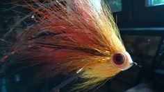 Pike flies made by Loguns flies