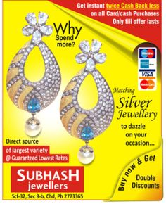 Buy Luxury and Stylist jewelery by subhashjewellers chd