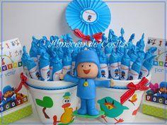 facil y muy linda ♥ Ideas Para Fiestas, 3d Shapes, First Birthdays, Children, Iris, Cute, Leo, Baby, Girls