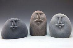 Sandblasted Stones — Art Jewelry~Wearable Sculpture~Sandblasted Stones Organic Sculpture, Sculpture Art, Pebble Painting, Pebble Art, Jewelry Crafts, Jewelry Art, Rock And Pebbles, Stone Carving, Dremel