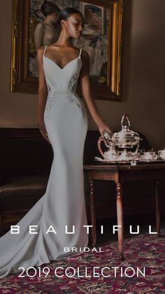 Highlights from the all new 2019 Beautiful Bridal collection from Enzoani. - Highlights from the all new 2019 Beautiful Bridal collection from Enzoani. Source by - Affordable Wedding Dresses, Wedding Dress Trends, Wedding Dresses For Sale, Bridal Wedding Dresses, Bridesmaid Dresses, Prom Dresses, Off Shoulder Wedding Dress, Backless Wedding, Mermaid Dresses