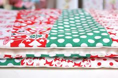 table runner tutorial- love the colors