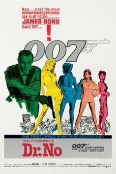 James Bond - Dr. No poster