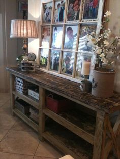 a big frames that says love is | LOVE the table. LOVE the big frame. | crafts