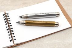 The Sketch Up Clutch Lead Holder features Kaweco's signature octagonal barrel, giving it a robust and sturdy look.
