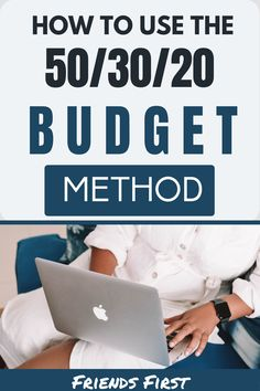 How To Use The 50/30/20 Budget Method: The 50/30/20 budget is great for beginners trying to increase their financial knowledge. This budget is simple to understand, can be implemented for couples, and can be used for college students. This money budget puts your expenses into categories and percentages. You could save up for your dream vacation or wedding with this budget! #Budget #PersonalFinance #ForBeginners #Teens via @FriendsFirstCo Budget Help, Money Budget, Money Tips, Money Hacks, Take Money, Managing Your Money, That One Friend, Budgeting Money, Financial Goals