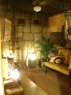 Indiana Jones Room, This room is a tribute to the greatest adventurer of all time Indiana Jones. The room was made to look like a long aband...