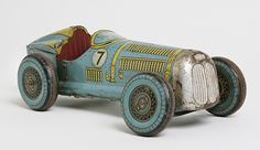 Mettoy tin racing car from the 1940s