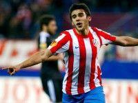 Partido de octavos de final de la Europa League disputado entre el Atlético de Madrid y el Besiktas. Resultado 3-1