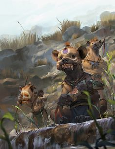 ArtStation - Hunting for lunch, Rudy Siswanto