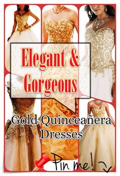 Quinceanera Guide - Gold Quinceanera Dresses In Autumn Shades. Pick out one of these Gold quinceanera dresses for your big day! Quinceanera Party, Quinceanera Dresses, Prom Dresses, Formal Dresses, Fantasy Party, Quince Dresses, Bid Day, Timeless Beauty, Dress For You