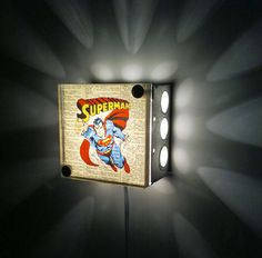 superman light...for the future (or maybe for my husband now! lol)