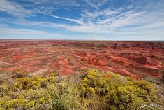 The Painted Desert from Tiponi Point by Jeff Goulden Beautiful World, Beautiful Images, Fine Art Photography, Landscape Photography, Holbrook Arizona, Petrified Forest National Park, Colorado Plateau, Painted Desert, Arizona Usa