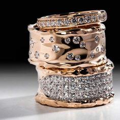 Diamond Rings, Diamond Jewelry, Gold Jewelry, Jewelry Rings, Jewelry Accessories, Fine Jewelry, Jewelry Design, Crystal Jewelry, Jewelry Making