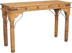 Santa Fe Rustic Console Table