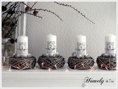 Mooie advent kaarsen