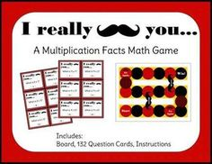 "I could make my own ""I mustache you a math question"" board game.  Answer a question right to roll the dice and advance.  If you a land on a mustache space it connects to a space further along and you slide ahead to a space further along."