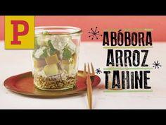 Marmita: Salada de grãos + legumes assados + tahine - YouTube