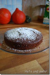 Schoko-Birnen-Kuchen: runde Form, 18 cm German Desserts, German Recipes, German Cake, No Bake Desserts, Cake Recipes, Vegetarian Recipes, Sweet Tooth, Bakery, Pudding
