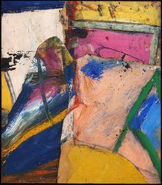 13 Willem de Kooning (1904-1997) In ongeveer 1963 verhuisde De Kooning naar East Hampton, Long Island en schilderde hij opnieuw vrouwen. Deze schilderijen waren opnieuw controversieel. De terugkeer naar het onderwerp vrouwen werd hem niet in dank afgenomen door de kunstcritici.
