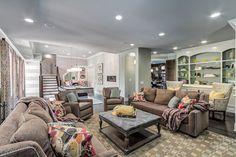 Benzinger Terrace - Brentwood, TN - transitional - basement - nashville - Eric Ross Interiors, LLC