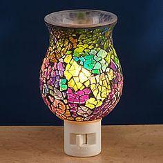 Rainbow Mosaic Night Light