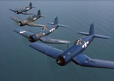 Black Sheep Squadron Us Military Aircraft, Ww2 Aircraft, Fighter Aircraft, Fighter Jets, Black Sheep Squadron, Fun Fly, Baa Baa Black Sheep, American Air, Airplane Art