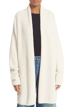 Free shipping and returns on Vince Texture Wool Blend Shawl Cardigan at Nordstrom.com. Elegant shawl-inspired draping defines the nonchalant attitude of an open-front cardigan in a snuggly, textured wool-blend knit.