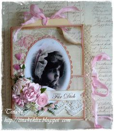 Live & Love Crafts' Inspiration and Challenge Blog: Tina's Book Card